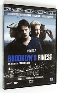 DVD-BROOKLYN-039-S-FINEST-2008-Drammatico-Gere-Cheadle-Hawke-Snipes