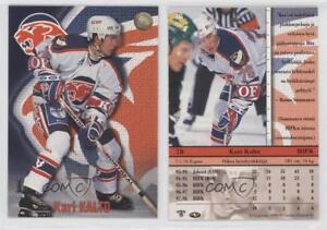 1998 99 Cardset Finland Sm Liiga 38 Kari Kalto Hifk Helsinki Liiga