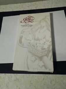 NEW-IN-BOX-LONGABERGER-034-JOY-034-1996-POTTERY-ANGEL-COOKIE-MOLD-8-1-2-034-LENGTH