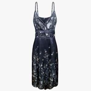 TED-BAKER-Women-Silk-Dress-Size-S-38-4-Womens-Gray-Dress-Floral-Sleeveless-Dress