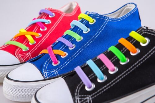 1Set Silikon Schnürsenkel elastisch Senkel Schuhband no tie shoe lace Silicon ho