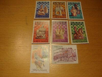 Vietnam,1983 1992 Diverse Michelnummern Gestempelt