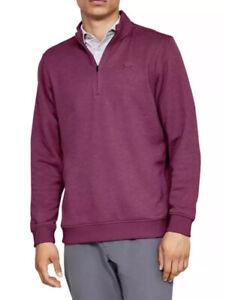 Under-Armour-Mens-ColdGear-Storm-1-4-Zip-Fleece-Pullover-Long-Sleeve-Sweater-XL