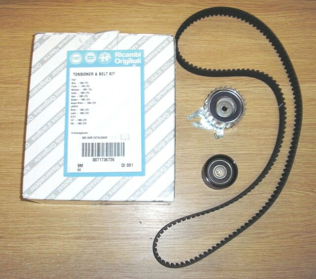 FIAT PUNTO MULTIPLA DOBLO STILO 1.9 8V JTD  Genuine Cam Belt Timing Kit 71736726