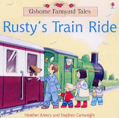 "1 of 1 - ""NEW"" Rusty's Train Ride, Heather Amery, Book"
