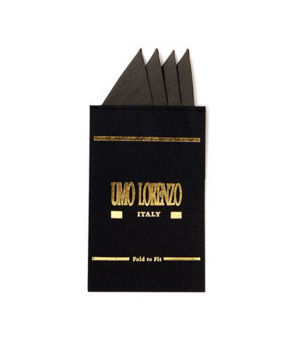 HC2401 Silk Hanky Card Pocket Square Umo Lorenzo Pre-Folded Tuxedo Accessory