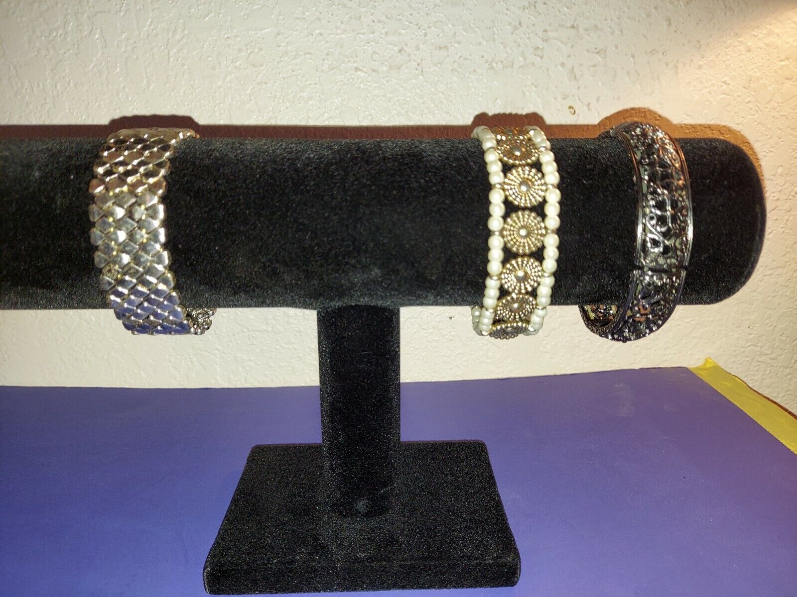 Bracelet Lot, Costume Jewelry - image 1