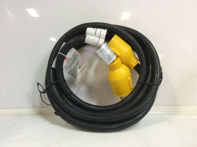 (Closeout) ABN 10Ft 30A STW 125V 3 Prong Generator Locking Extension Cord