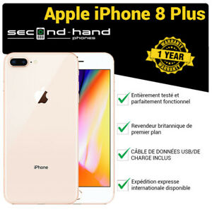 iPhone-8-Plus-64-Go-Or-Debloque-Bonne-Note-Garantie-De-1-An