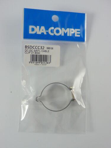 Old School BMX Red Blue Gold Black Dia Compe Brake Cable Clip 25.4 28.6 31.8