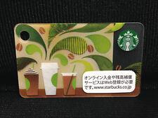"Starbucks Japan Mini Card ""Coffee Seminar"" 2014 Limited Edition Free Shipping"