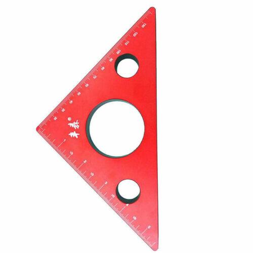 Precision Woodworking Tools Mini Square Mini Triangle Ruler 0-150mm