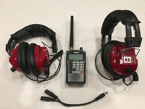 Details about NASCAR Racing Race Scanner with 2-headsets Uniden BC125AT  BRAND NEW
