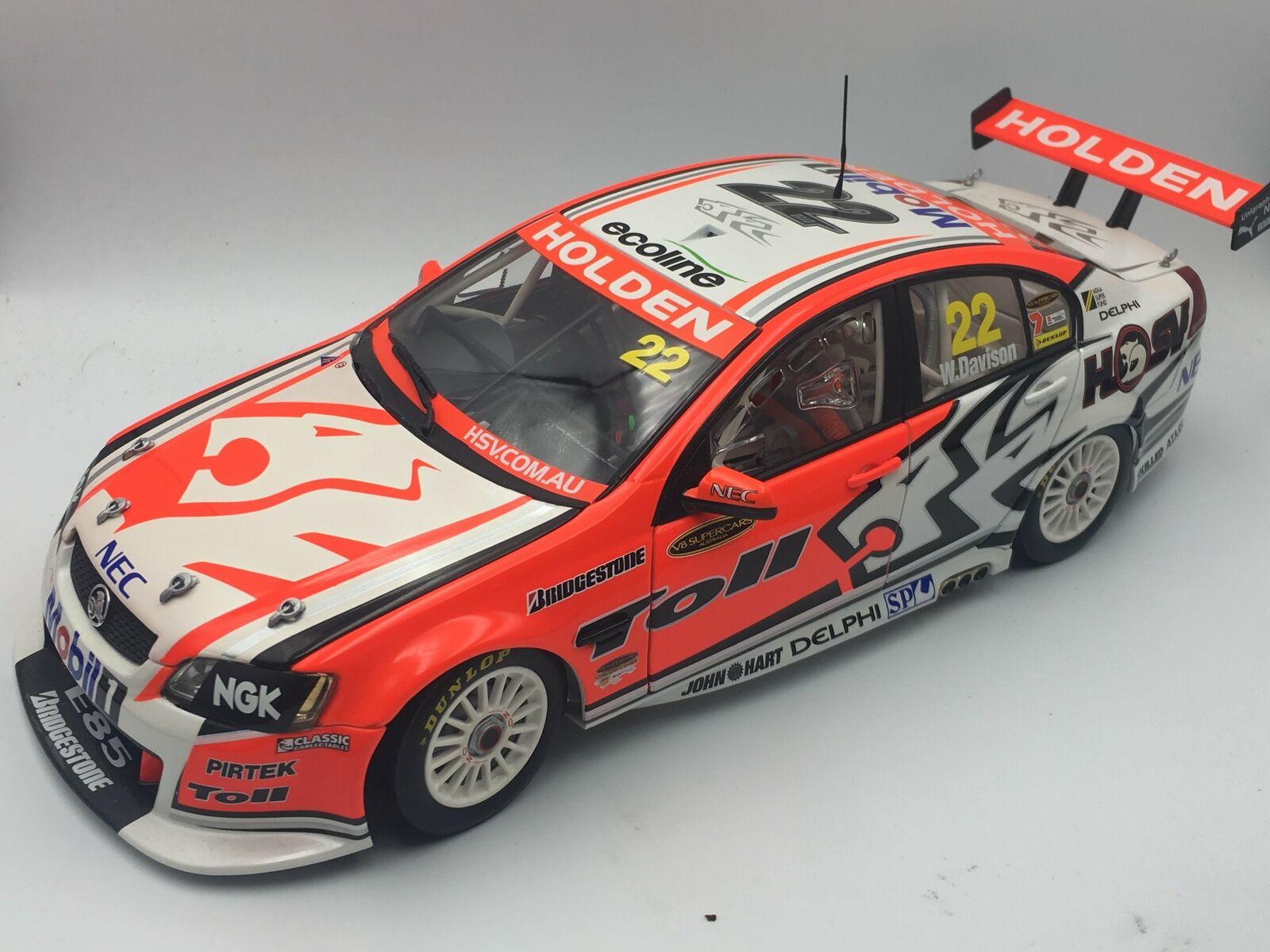 1 18 2009 Will Davison - LOW COA -- Holden VE Commodore -- Holden Racing Team