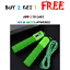 thumbnail 5 - Jump Rope Counter Adjustable For Kids Exercise Bearing Speed Skipping Fitness US
