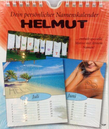Dein persönlicher Namenskalender Geburtstag eigener Vorname Kalender