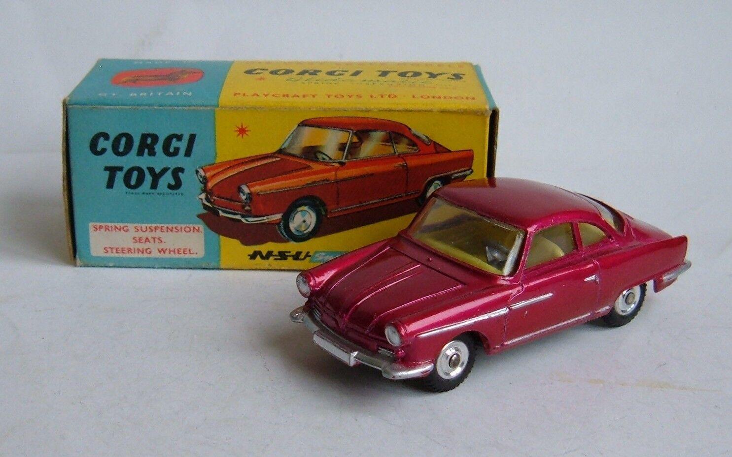 Corgi Toys No. 316, NSU Sport Prinz, - Superb