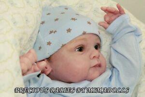 BABY-DOLL-BOY-YAEL-GUDRUN-LEGLER-REBORN-BY-MIMADOLLS-FREE-SHIP-IIORA-PRAISE-CRIB