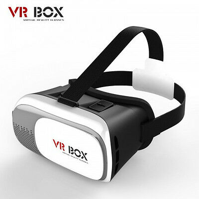 Vr Box Virtual Reality Movies Games 3d Glasses For 4.7-6.0 Smart Phone