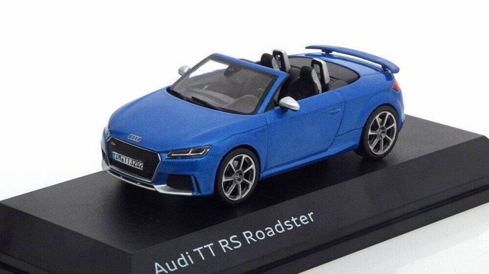 AUDI TT RS TTRS 8S 2.5 TFSI QUATTRO 2018 ROADSTER 1 43 I-SCALE (DEALER MODEL)