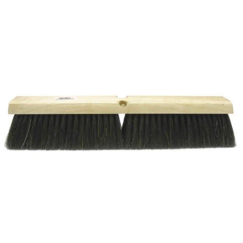 "TOUGH GUY 4KNA3 Push Broom,Head,24/"",Black"