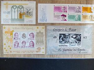 1973 / 84 / 86 ESPAGNE-LOT FEUILLET TIMBRES ET BANDE NEUVE - France - EBay BANDE NEUVE NON PLIEE FEULLETS NEUFS ET SANS TRACE DE CHARNIERE - France
