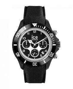 Ice-Watch-dune-Herrenuhr-Uhr-Chronograph-Schwarz-Big-45mm-014216