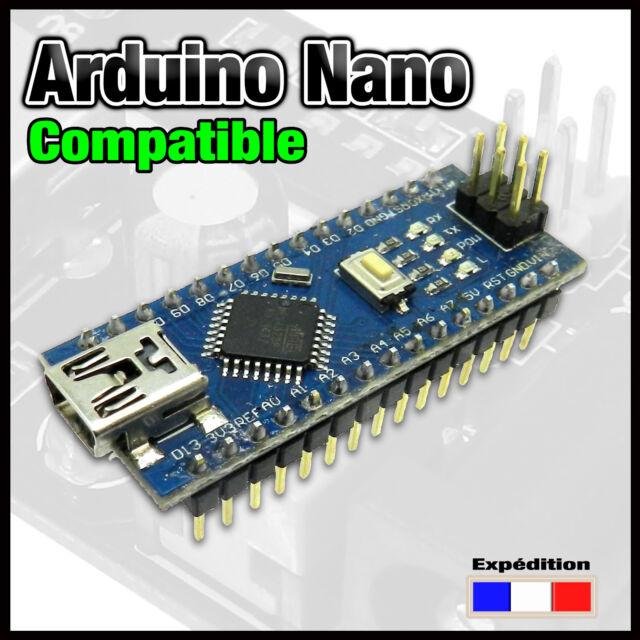 DCCNano# carte Nano compatible ARDUINO V3.0 ATmega328 16M 5V USB CH340