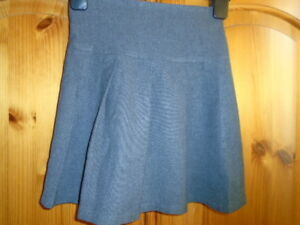 6f5f44439 Image is loading Grey-school-skirt-with-part-elasticated-waist-MATALAN-