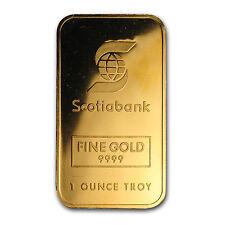 1 oz Gold Bar - Johnson Matthey (Scotiabank) - SKU #64460