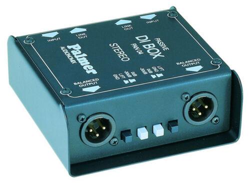 Super Stereo Di-Box von Plamer für Studio und Live-Einsatz von z.B Keyboards