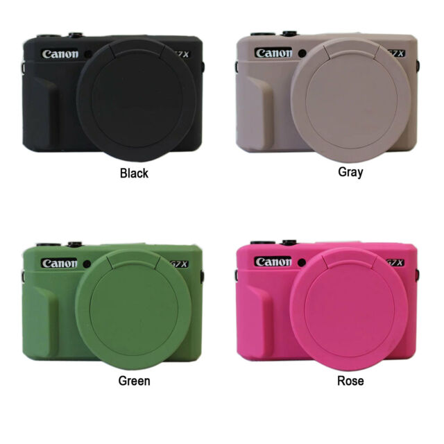 Camera Soft Silicone Protector Skin Case for Canon PowerShot G7X Mark II