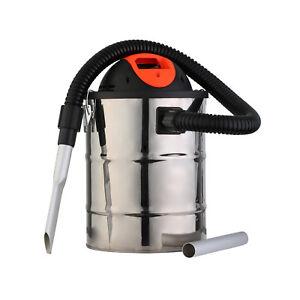 800w Fireplace Stove Log Wood Burner Vacuum Cleaner Ash