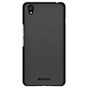 AMZER-Pudding-TPU-Case-Black-For-OnePlus-X