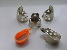 Dunlop 5 PC .020 Fingerpick Set W/Fred Kelly Speed Pick - DOBRO,BANJO,STEEL