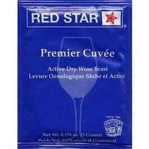 Red-Star-Premier-Cuvee-Yeast-Wine-Yeast-Free-Shipping-fast-shippingUSA-SELLERB