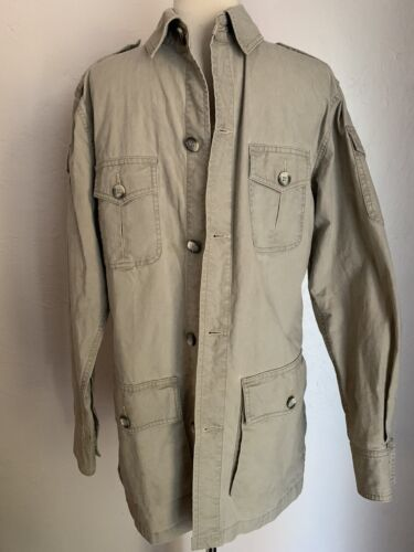 Vintage 1980s Banana Republic Button Down Shirt Mill Valley Label
