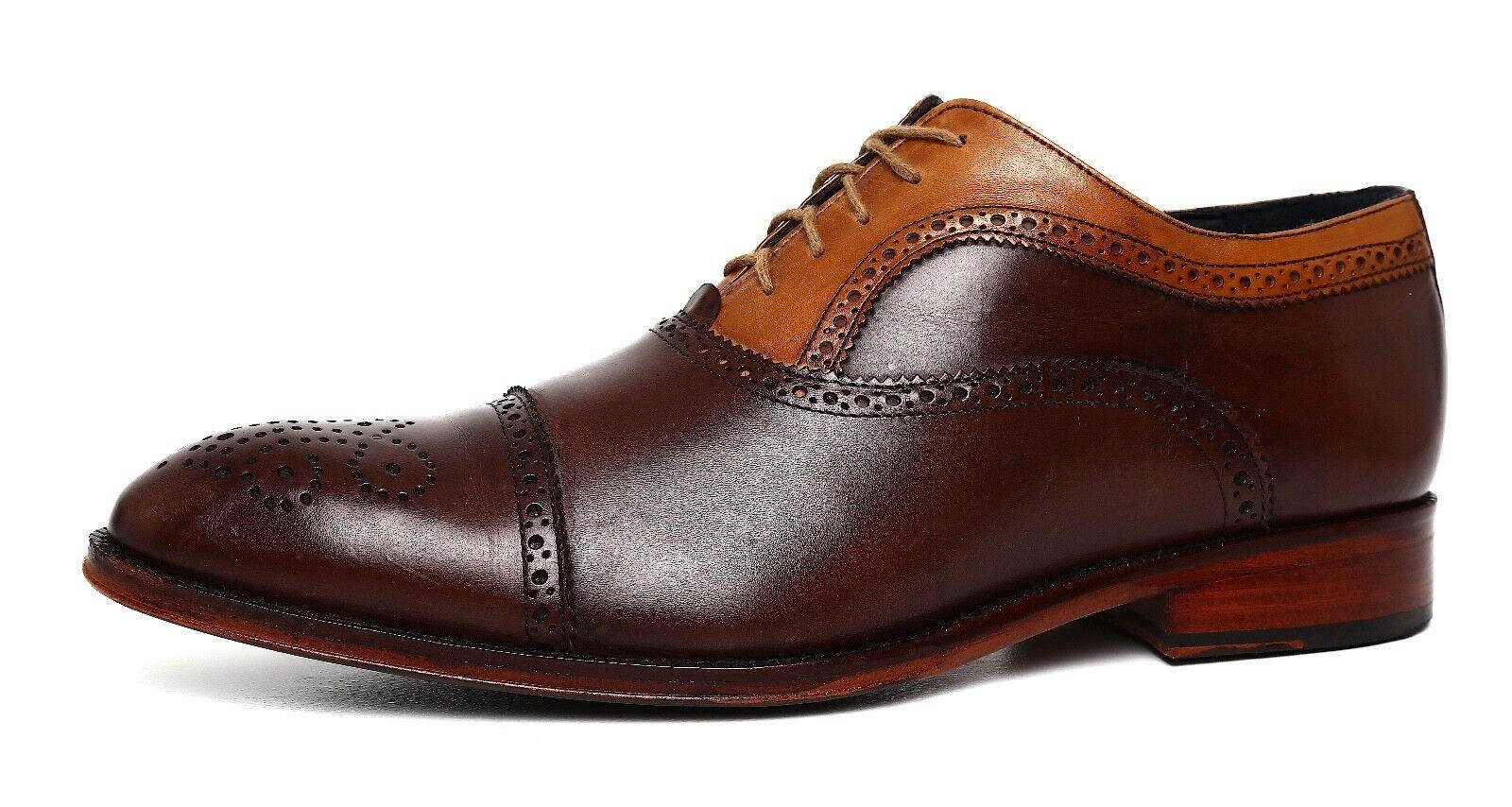 fino al 50% di sconto Messico Antonio Vintage Leather Oxford Marrone Uomo Sz Sz Sz 10 D 5832  bellissimo