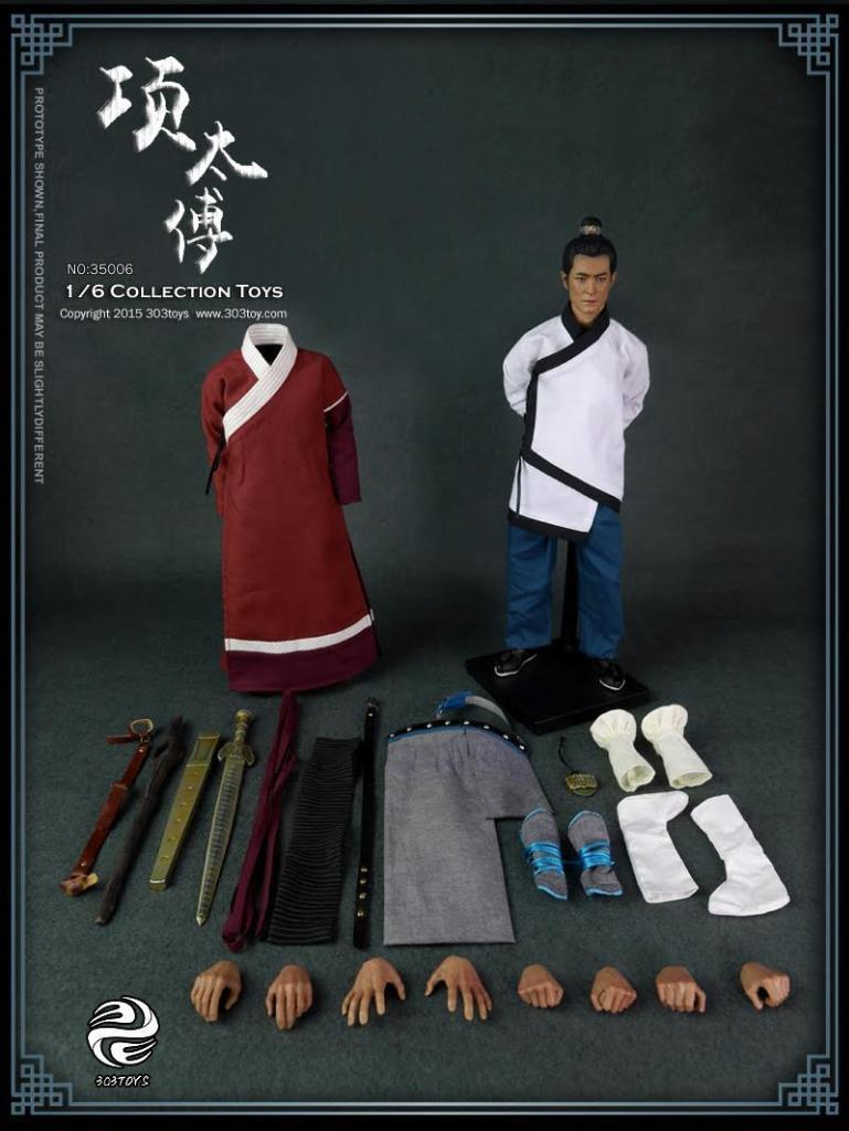 303toys 1 6 Scale Daqin A Step into the Past Master Xiang of Qin 大秦-項太傅