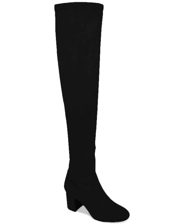 la migliore moda International International International Concepts Rikkie Wide-Calf Over-The-Knee stivali( nero,9.5)  prezzo più economico