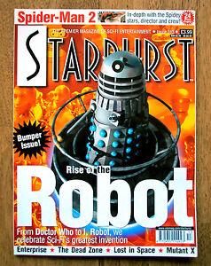 STARBURST-313-Spider-Man-2-Doctor-Who-Enterprise-Lost-In-Space-Dead-Zone