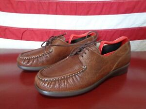 8ecef7c503 WOMENS SAS COMFORT MOCCASIN MADE IN USA LEATHER MSRP $135 CUTE GREAT ...