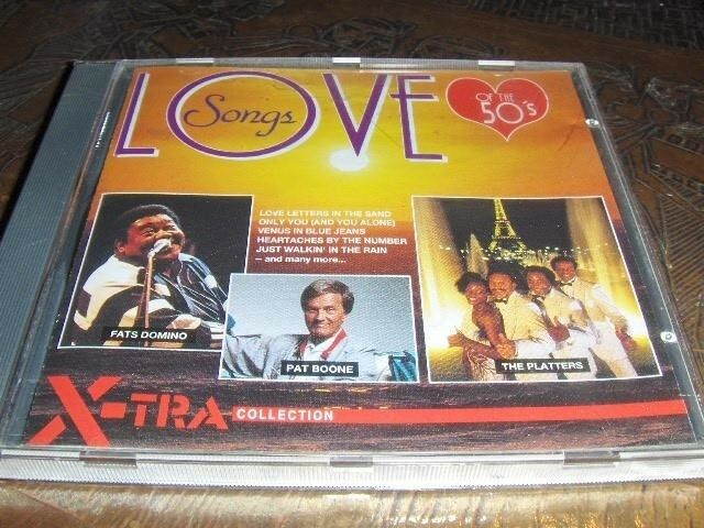 Forskellige: CD - LOVE SONGS OF THE 50's, andet