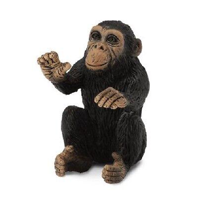 CollectA 88495 CHIMPANZEE BABY THINKING 2.5cm Long 3.5cm Tall Miniature Figure