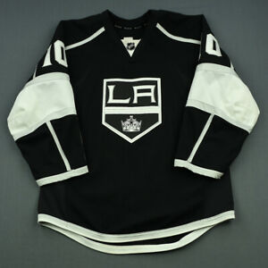2014-15-Mike-Richards-Los-Angeles-Kings-Game-Used-Worn-Hockey-Jersey-MeiGray