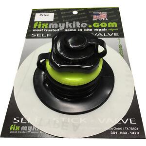 FixMyKite Self Stick Naish High Flow Screw Kite Bladder Repair Valve