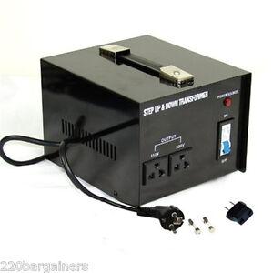 Heavy Duty 1000 Watt 110 220 Volt Power Voltage Converter 110v 220v Transformer