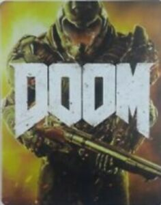 Doom-Collectors-Edition-PS4-STEELBOOK-Case-ONLY-NO-GAME-Included