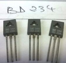 LOT 2 pièces BD234 TRANSISTOR NEUF VINTAGE