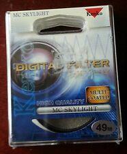 KENKO 49mm Digital Filter MC Skylight for NIKON CANON etc.